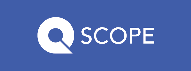 SCOPE logo AboutPage