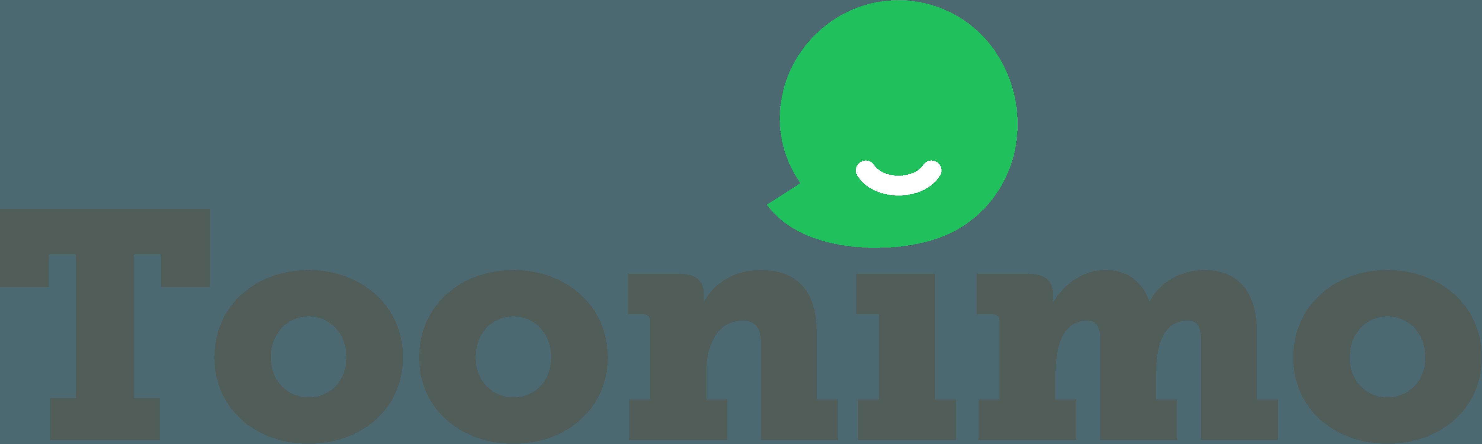 Toonimo logo web