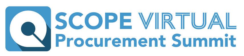 SCOPE Procurement VirtualSummit logo