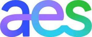 AES company logo